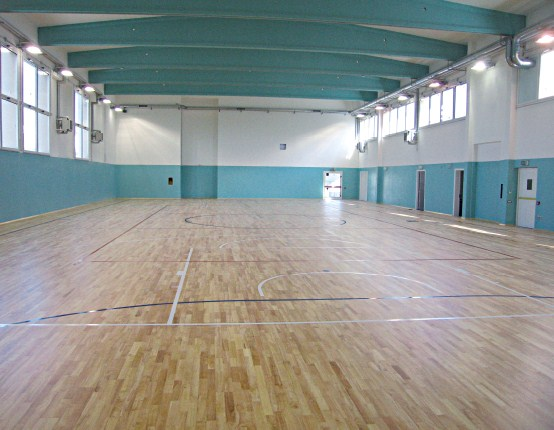 parquet sportivo playwood rubber 22 Trieste palestra