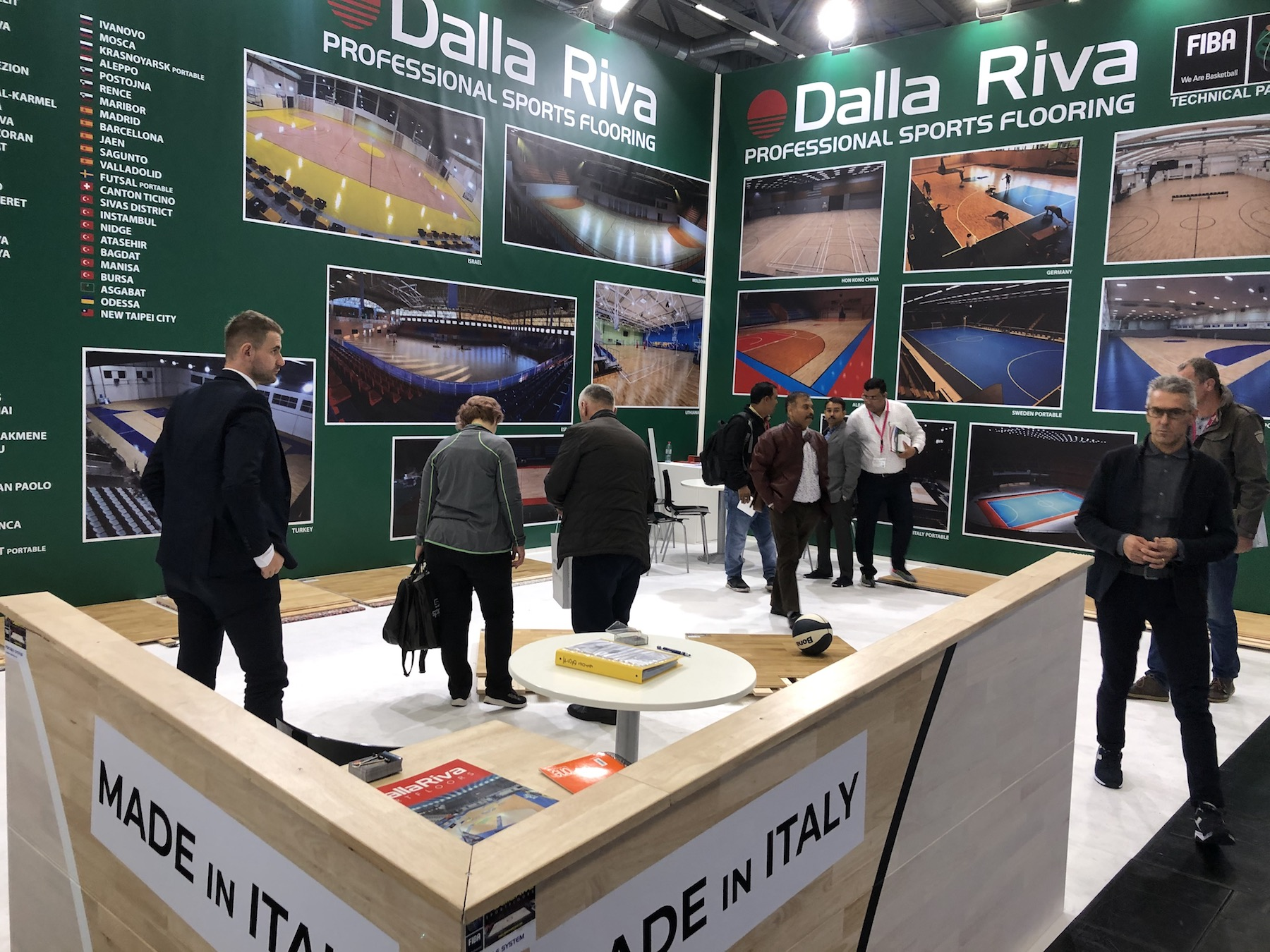 FSB COLONIA 2019 DALLA RIVA SPORTS FLOORS PARQUET